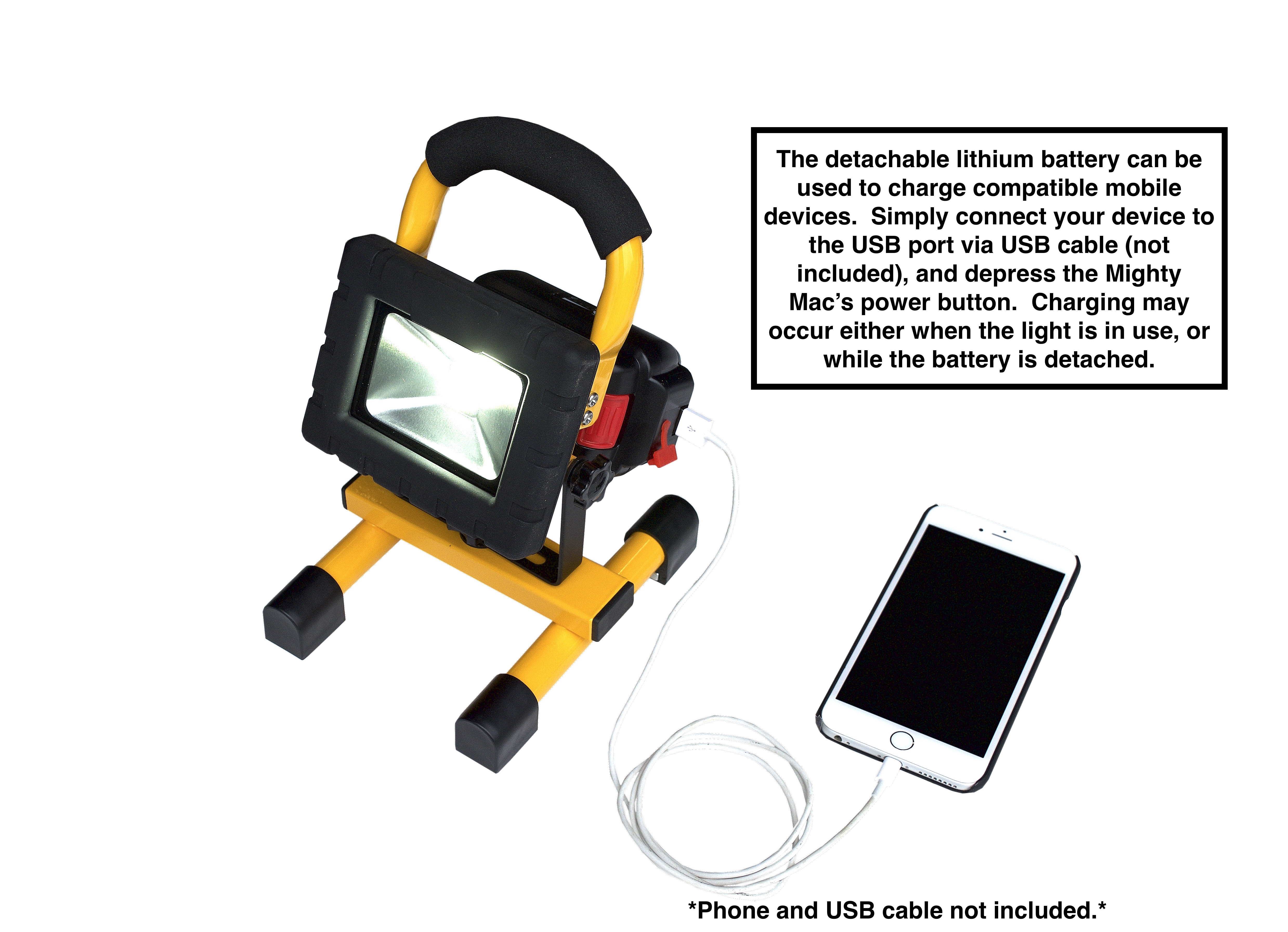 Mighty Mac LED Work Light - 27190003