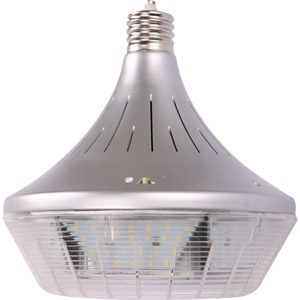 Buoy shaped LED light bulb for industrial environments